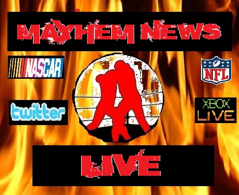 Mayhem News Live graphic